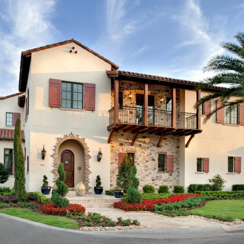 custom residential home in the Orlando area built by Central Florida builder Cahill Homes