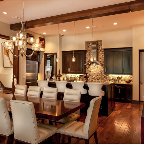 custom interior designed by Central Florida residential home builder Cahill Homes