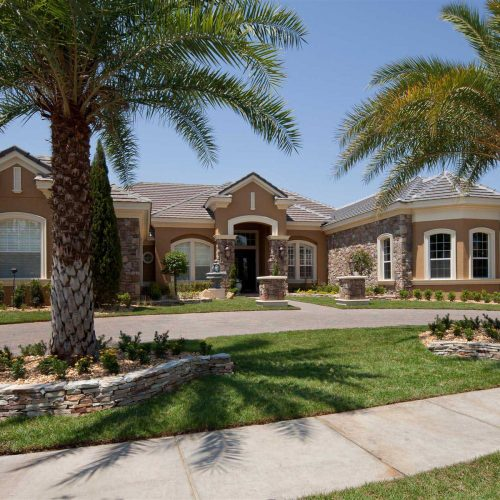 custom residential home in Orlando built by Central Florida Builder Dave Brewer
