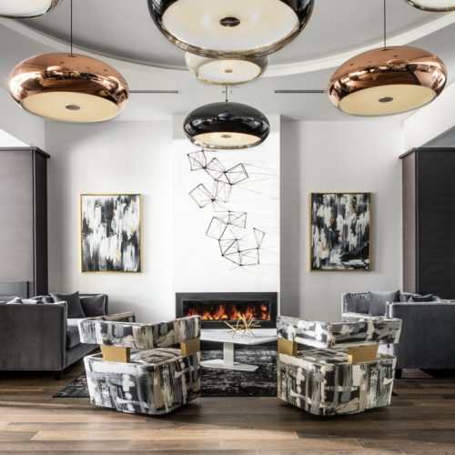 elegant custom living room design by McNally Construction Group of Central Florida Builders