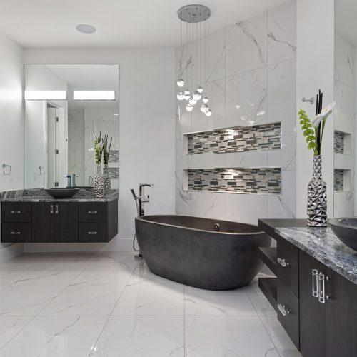 custom bath design built by McNally Construction Group, a Central Florida home builder in Orlando