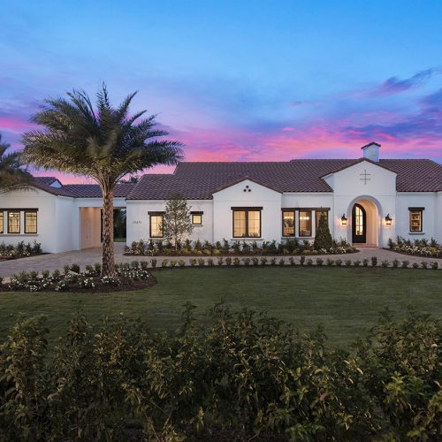 beautiful custom residential home built by Element Home Builders of Central Florida Builders